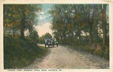 Georgia, GA, Augusta, Lovers' Lane, Sandbar Ferry RD 1921 Postcard