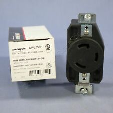 Cooper L5-30 Twist Locking Receptacle Outlet NEMA L5-30R 30A 125V CWL530R Boxed