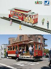 San Francisco cable car tram - HO/N gauge (HOe) - motorized figures KATO ATLAS