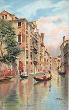B4958 Venezia Rio del Pestrin  front/back scan
