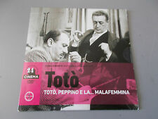 DVD TOTO´ TOTO' PEPPINO E LA...MALAFEMMINA N° 3 IL SOLE 24 ORE CINEMA