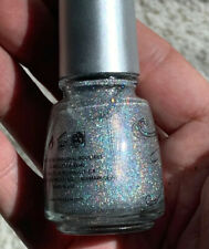 Holographic- China Glaze - Sexagon - Nail lacquar - New - Very Rare - Full Size