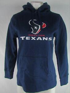 Houston Texans NFL Fanatics Women's Navy #99 J.J. Watt Hoodie Flawed