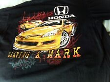 Honda T-shirt Type R Sz Large Acura JDM ACCORD Stanced CRX CIVIC B16 VTECH Rare!