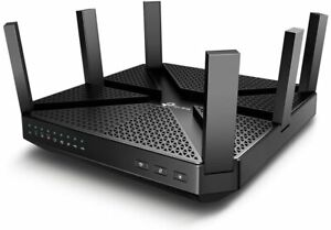 TP-LINK Archer AC4000 MU-MIMO Tri-Band 4 Port WiFi Router AC4000