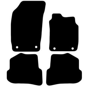 For Audi A1 2010 to 2018 Fully Tailored Black Car Floor Mats Carpet 4 Clips
