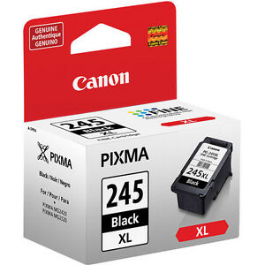 Genuine Canon PG245 XL high capacity black ink fo 245 PIXMA MG2555 MG3020 MX490