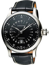 Longines Heritage Automatic Black Dial Men's Watch L2.797.4.53.0