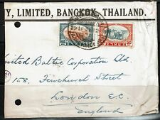 Thailand 1940s Cover to England - Lot 092617