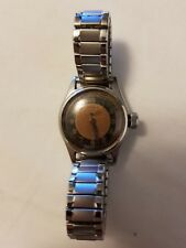 Super Rare Doxa Military Two-tone Dial Manual winding Ladies Watch 1950's