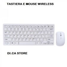 MINI TASTIERA E MOUSE WIRELESS PER PC TASTIERE WIFI KEYBOARD USB SENZA FILI