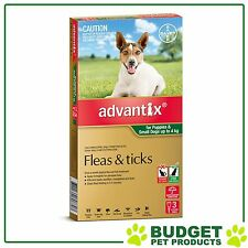 Advantix For Small Dogs Up To 4kg 3 pack