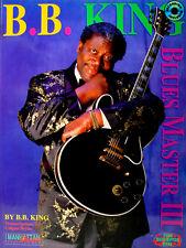 B.B. BING BLUES MASTER III TRANSCRIPTIONS DE COLGAN BRYAN AVEC 1 CD