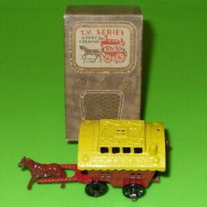Benbros T.V. Series / 5 Red & Yellow Gypsy Caravan / Boxed