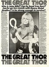 1/6/85pg29 Vintage Article & Picture, Thor