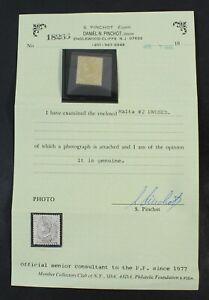 CKStamps: GB Malta Stamps Collection Scott#2 Unused H Regum Cert