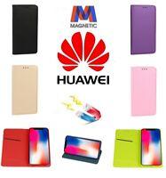 Custodia Smart Book Flip Cover Magnetica a Libro Per Huawei P20 P30 Lite e Pro