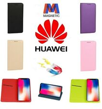Custodia Smart Book Flip Cover Magnetica a Libro Per Huawei P40 / Pro / Lite / E