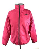 THE NORTH FACE Windbreaker Jacket Coat Womens Size M Medium Pink Full Zip