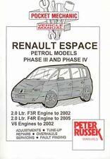 Pocket Mechanic for Renault Espace, Grand Espace, Petrol Models 2.0 1997-2005