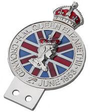 Queen Elizabeth lI Coronation celebration grille badge