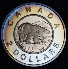 2003 CANADA - $2 DOLLARS - SILVER - PROOF - Nice Rainbow Tone - NCC