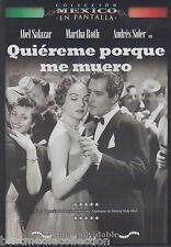 Quiereme Porque Me Muero 1953 DVD NEW Abel Salazar y Martha Roth SEALED