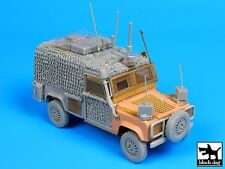 Black Dog 1/35 Land Rover Defender Snatch Barracuda Conversion HobbyBoss T35092