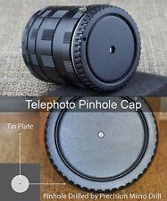 TELE Macro Pinhole body cap Canon EOS EF M M2 M3 M6 M10 M100 lens camera Holga