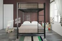 Bunk Beds For Kids Full Over Full Metal Bed Frame Boys Girls Bedroom Furniture