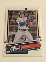 2020 Donruss Optic Baseball The Rookies - Gavin Lux RC - Los Angeles Dodgers