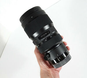 Sigma 50-100mm f/1.8 DC HSM Art Lens for Canon EF- GOOD COND- MINT GLASS