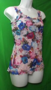 NEW HANKY PANKY 2X4256X SIGNATURE ELSA FLORAL MADE IN USA LACE CAMISOLE 2X