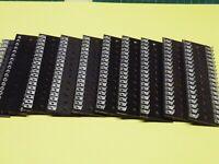 10 Pcs  36 Way 2 Row Paxolin Miniature 6.3mm Pitch Tag Strip Group Board 882 w