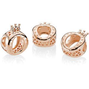 Pandora Charm Bead 787401 Rose Crown O S925 ALE