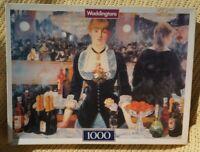 Jigsaw Puzzle 1000 PC Le Bar Aux Folies Bergeres Manet Waddingtons Complete Rare