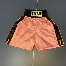 Title Boxing Shorts Pink Medium