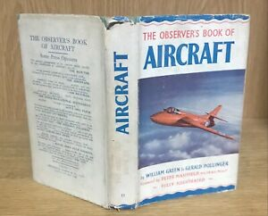 The Observers Book Of Aircraft 1953 - Fully Illustrated VINTAGE BOOK