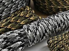Paracord Kordel Leine 0,50€-1,29€//m Camouflage Moro Tarnseil Meterware 5-12mm