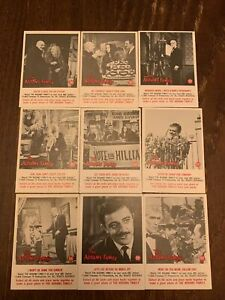 1964 Donruss Addams Family Cards. 50-60. Missing 57 & 59 Clean. -Horror Monster-