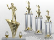 3er Säulenpokal SERIE DART mit Gravur Säulenpokale DART große Pokale