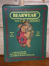 Boyds Bears 2000 ~Tweedle Bedeedle~ Bearwear Pin Style# 26136