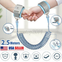 Child Safety Harness Leash Anti Lost Wrist Link Traction Rope For Toddler Baby
