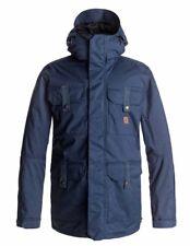 New 2018 DC Mens Servo Snowboard Jacket Medium Insignia Blue