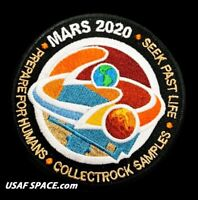 Authentic - NASA JPL -MARS 2020 ROVER- Exploration Mission- AB Emblem PATCH -USA
