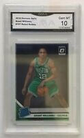 2019-20 Donruss Optic Grant Williams #157 Base RC Rookie Boston Celtics GMA10