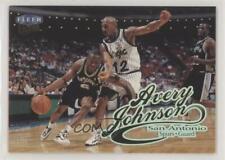 1998-99 Fleer Ultra Avery Johnson #66