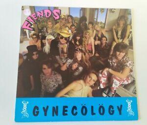 FIENDS Gynecology LP VINYL USA Pvc 8954 1986 12 Track ex/ex punk