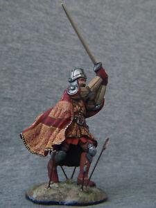 English knight XIV-XV century. Elite tin soldiers 54mm. Shcherbakov-HQModels
