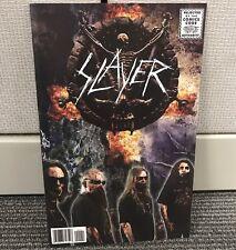 SLAYER #1 ROCK & ROLL BIOGRAPHY COMIC BOOK COVER A 1st PRINT 2015 METAL RARE